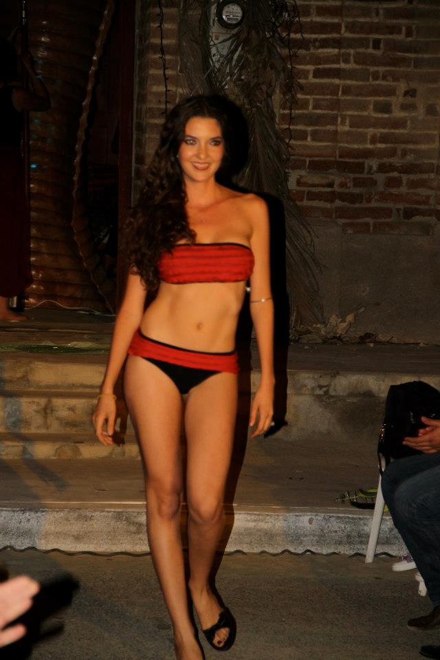 Belazul Swimwear fashion show, Dec. 27, 2012.