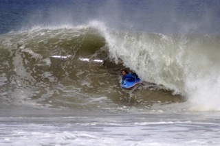 Photo Courtesy: Nate Trodd Monica Dell'Amore charges Puerto Escondido in Mexico. Yeew!!