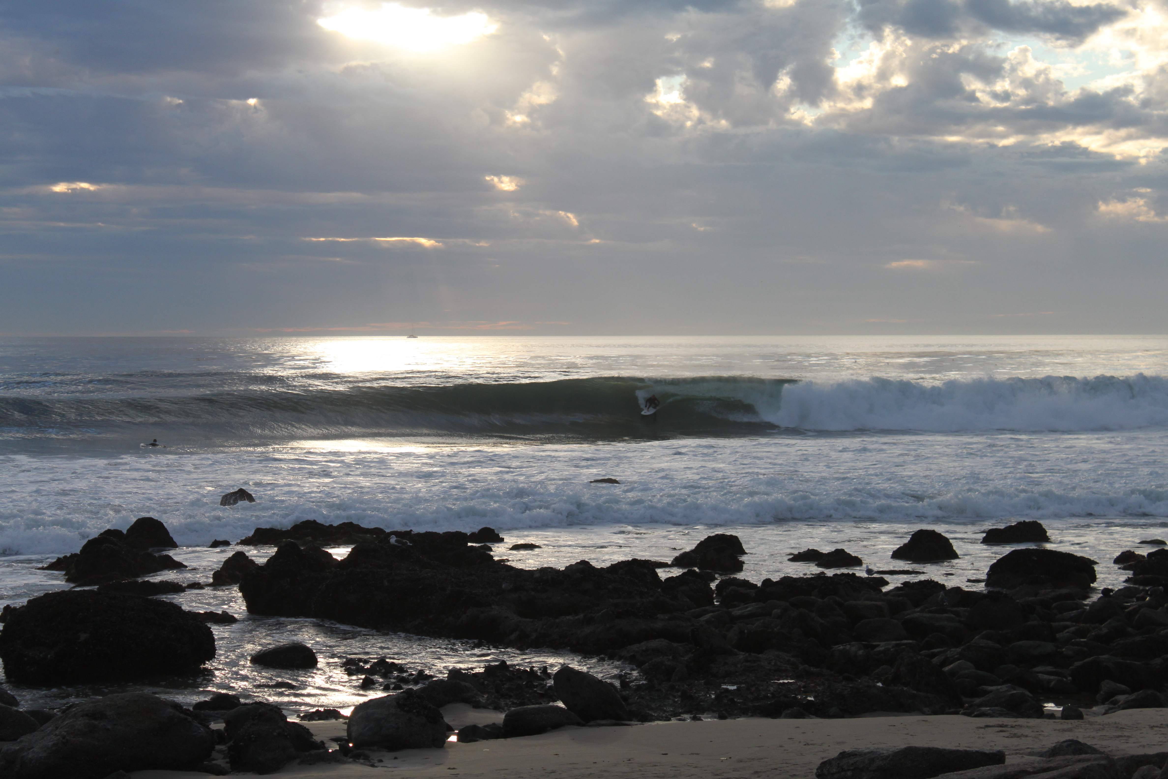 One of south Orange County's most popular spots for waves: Salt Creek.
