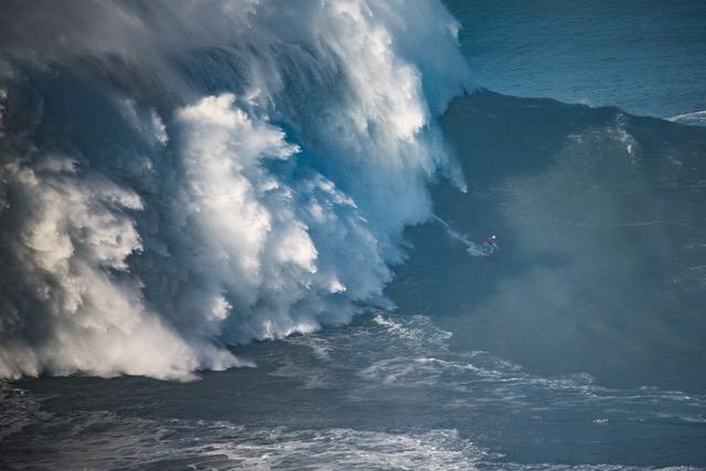 Maya Gabeira Surfs Biggest Wave By A Female Surfergets Blown Off