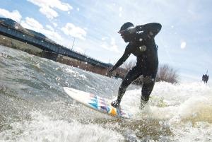 Brennan's Wave in the Clark Fork River, Montana. Photo: Sean Jansen