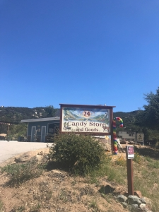 Simply titled Candy Store and Goods off the 74-Ortega Highway. Park across the street.