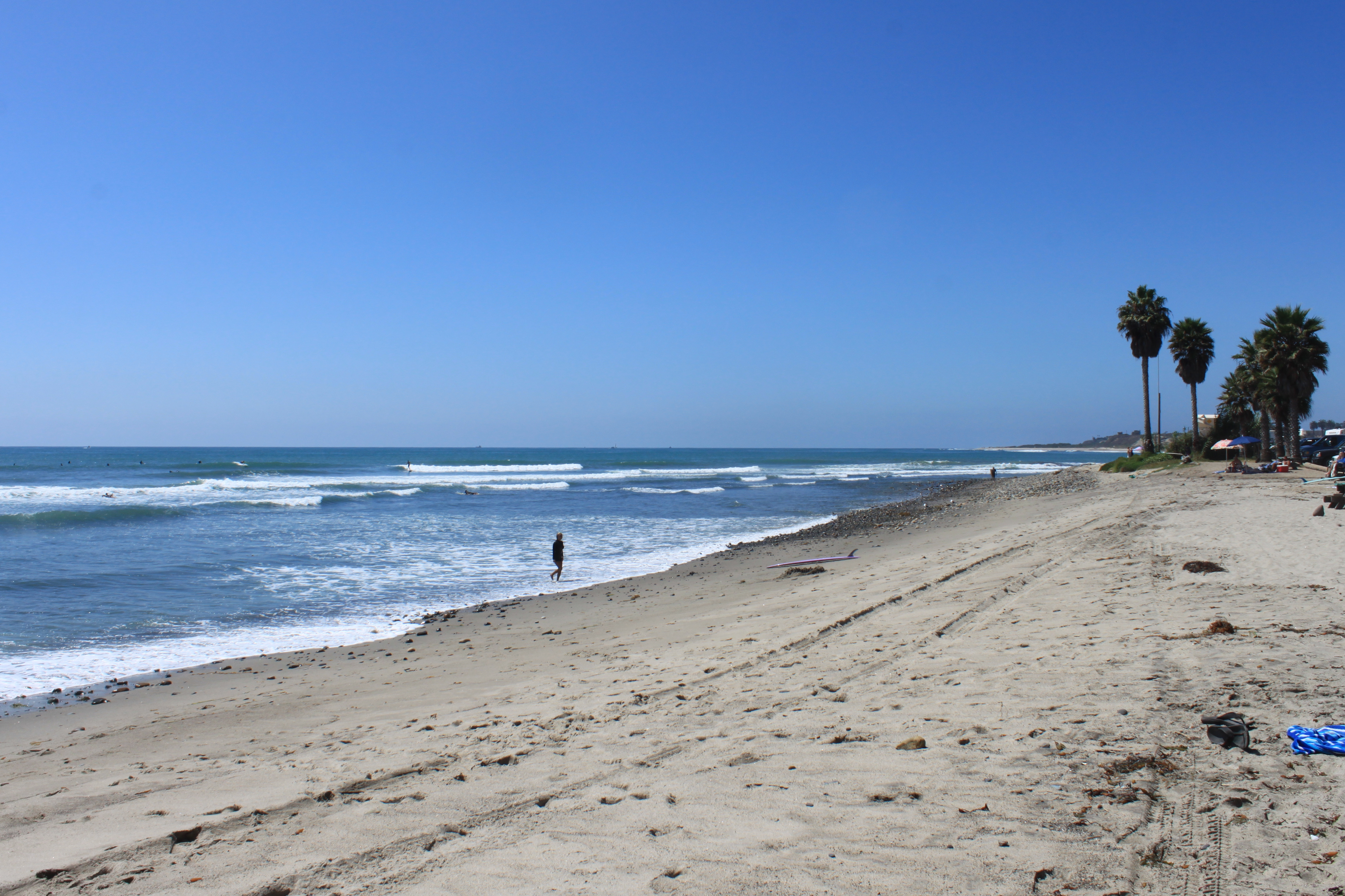 Where it all begins for most SoCal surfers: San Onofre state park.