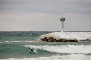 Not exactly balmy. Great Lakes for the win! Photo: secondwavemedia.com