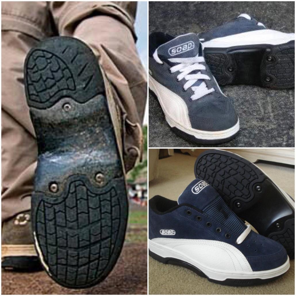 soap shoes black